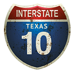 interstate sign graphic